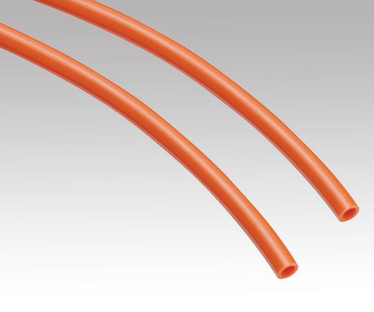 1-8228-06 ポリウレタンチューブ φ8.0×φ12mm 橙 1巻(20m)