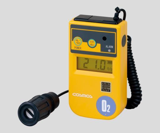 1-8752-02 酸素濃度計 1m(カールコード式)