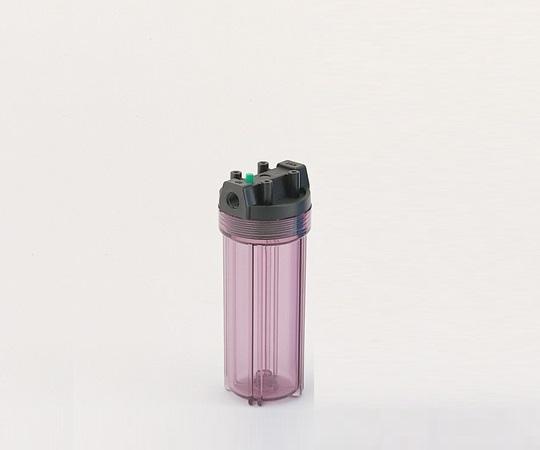 1-9022-08 樹脂製フィルターハウジング 20in 透明 1/2
