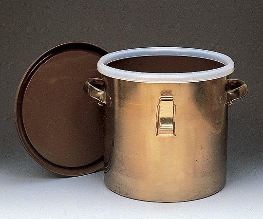 1-9492-04 フッ素樹脂(PFA)コーティング密閉タンク 20L