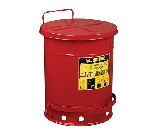 2-1063-02 耐火ゴミ箱 J09300