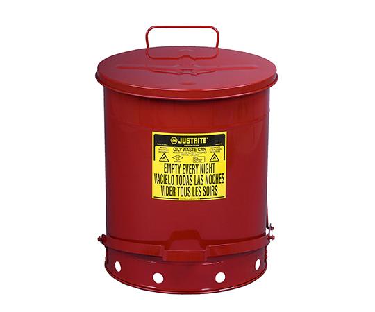 2-1063-03 耐火ゴミ箱 J09500