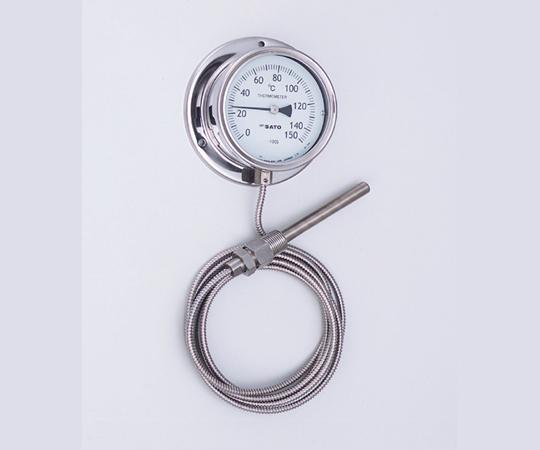 2-1336-02 隔測式温度計 0~50℃