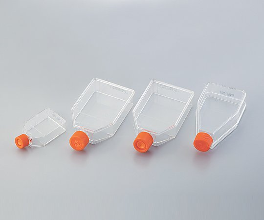 2-2063-10 細胞培養用フラスコ(ベントキャップ/アングルネック) 225mL