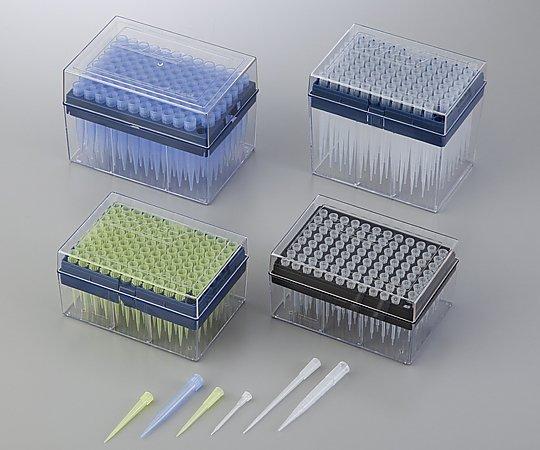 2-3009-02 アイビスピペットチップ(ボックスパック) 100~1000μL 96本/箱×10箱 ブルー
