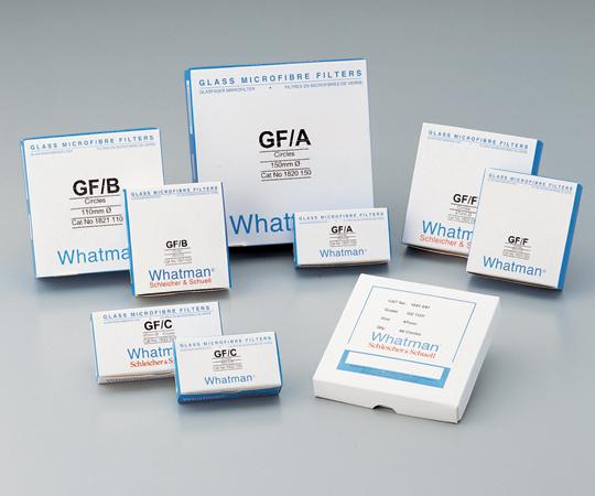 2-329-12 ガラス繊維円形濾紙GF/A 12.5cm 100枚入