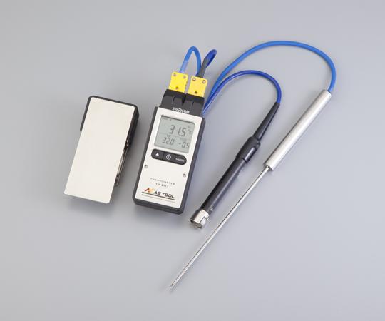 2-3362-02 エクスポケット熱電対温度計 TM-201(2ch)