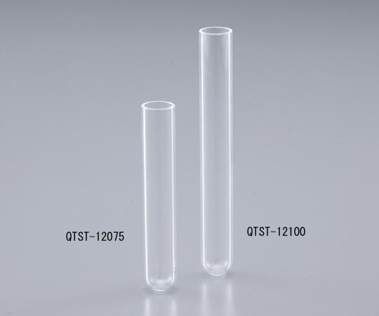 2-3974-03 石英試験管 φ12×100mm