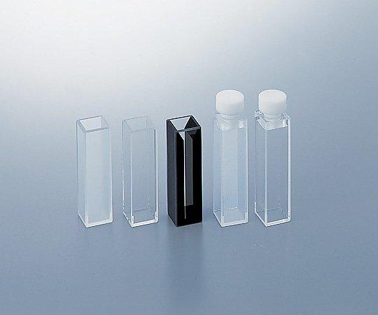 2-476-06 石英標準セル (テフロン (R) 栓付き蛍光全面透明)