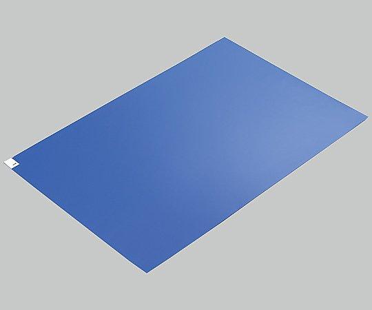 2-4909-02 エコノミー粘着マット 青 600×900