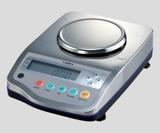 最小0.001g(IP65規格適合) 防塵・防水高精度電子天びん 620g 2-580-12