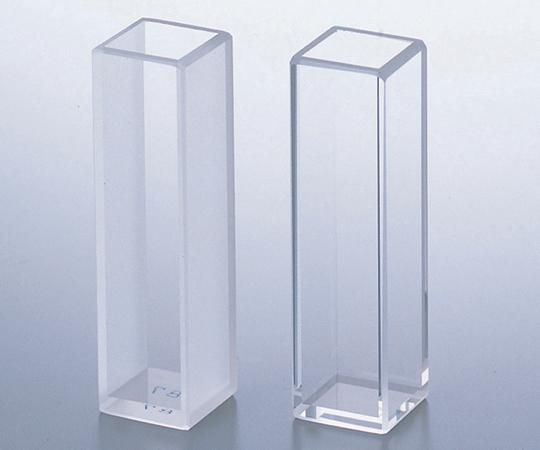 2-7644-02 分光光度計用標準石英セル (2面透明・マッチング/2本入)