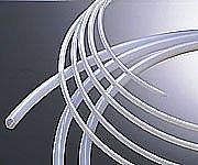 2-799-03 ナフロン(R)PTFEチューブ 3/8×1/2φインチ(9.52×12.7φmm) 1巻(10m)