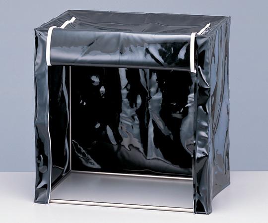 2-8070-01 シンプル卓上暗室 400×400×600mm