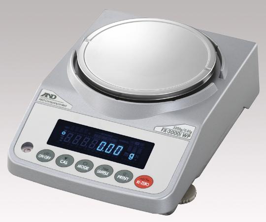 2-8142-25 汎用電子天秤 2200g 防塵・防滴仕様
