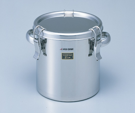 2-8182-04 耐食性に優れた把手付き密閉式タンク 65L