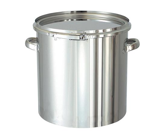 2-8183-02 耐食性に優れた密閉式タンク バンドタイプ 20L