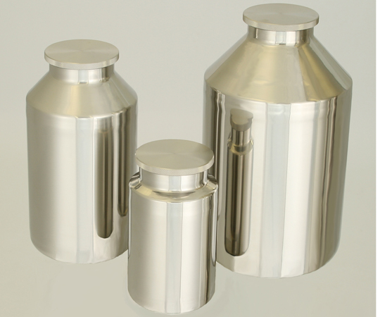 2-8255-03 洗浄が容易な 広口ネジ式ステンレスボトル 10L
