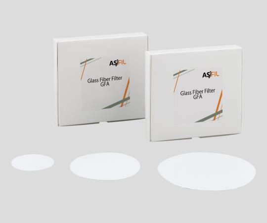 2-855-06 ガラス繊維濾紙(アズフィル) 円形 4.7cm 100枚入 047070N-SPGFF