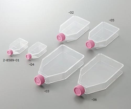 2-8589-04 細胞培養フラスコ(プラグシールキャップ) 25cm2