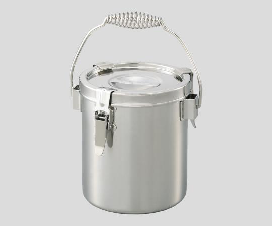 2-9550-04 ステンレス小型密閉容器 5L