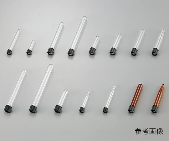 2-9624-04 ホールねじ口試験管 φ13.0×100×φ8.0 7mL