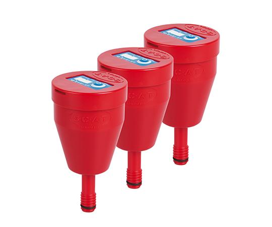 2-9654-07 安全廃液キャップ用排気フィルター(5・10Lタンク用) 3個入