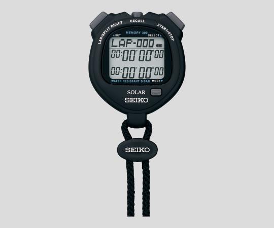 2-9869-01 デジタルストップウォッチ ブラック SVAJ001