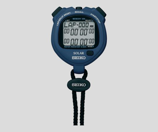 2-9869-03 デジタルストップウォッチ ブルー SVAJ005