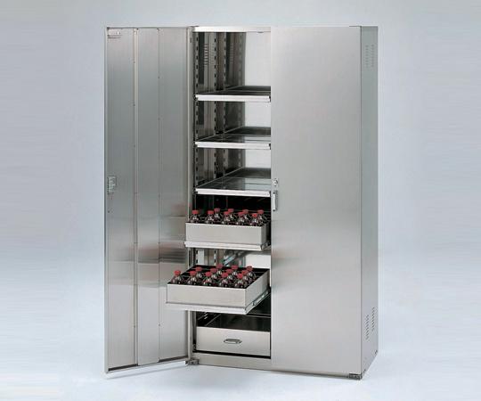 3-060-11 薬品庫 SH型 ドア材質ステンレス