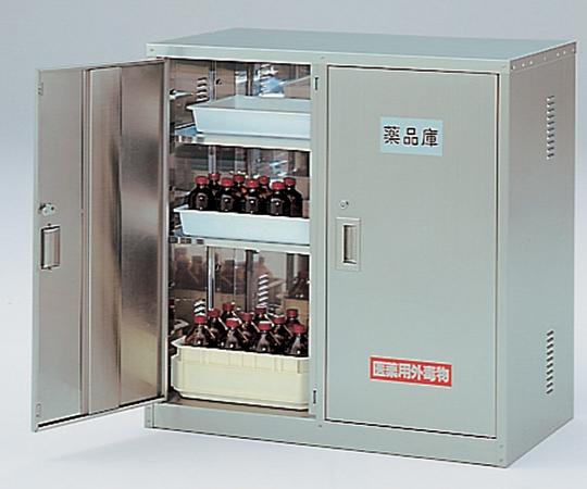 3-067-11 ステンレス薬品庫 SN