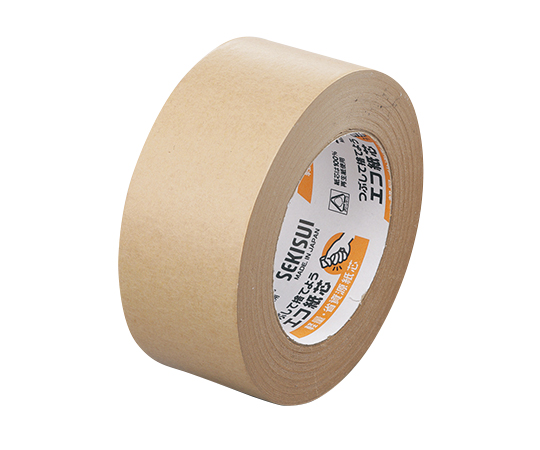 3-1765-51 セキスイ クラフトテープ 50mm×50m×0.14mm 1箱(50巻入)