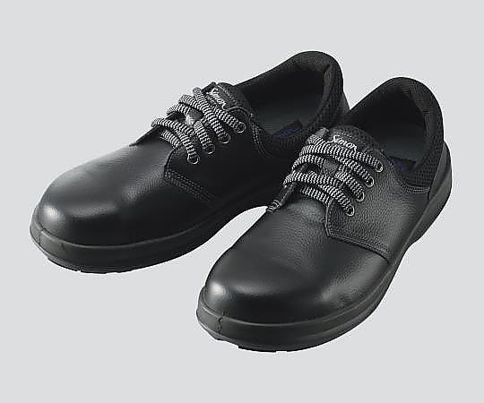 3-1782-04 安全靴 WS11黒 23.5