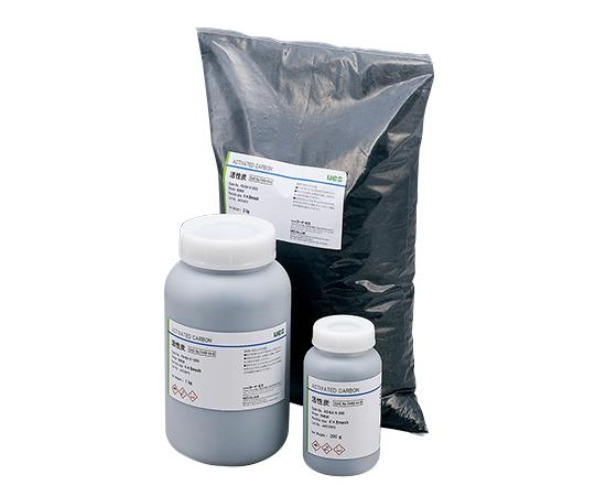 3-2333-03 活性炭 (ヤシガラ活性炭) (中粒タイプ、気相・液相) 3kg