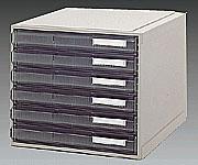 3-274-11 A3カセッター (引出6段)A3-222