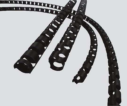 3-3146-03 導電性(帯電防止)スパイラルチューブカバー 19・25mm用 1巻(20m) CTC-20