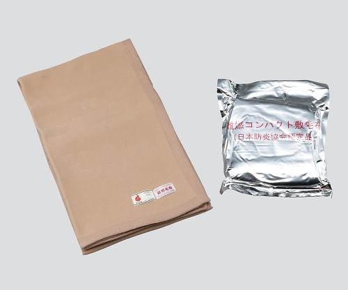 最安価格 3-4628-02 難燃備蓄用毛布(日本防災協会認定品) 750×2000mm コンパクトタイプ 20枚入り:GAOS 店-その他