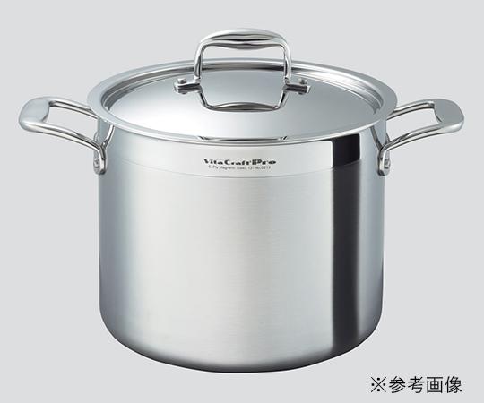 3-4807-03 寸胴鍋 寸胴鍋 16.7L Vita pro Craft pro 16.7L, キヅクリマチ:35522f5c --- m.vacuvin.hu
