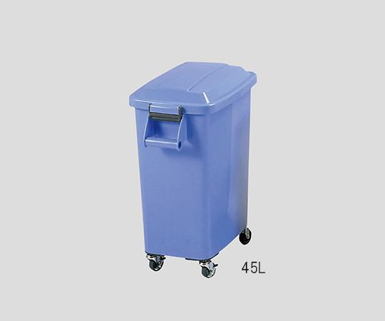 3-4838-02 厨房カラーペール 70L ブルー