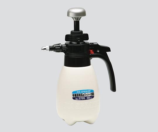 3-4910-01 有機溶剤系用噴霧器 500mL