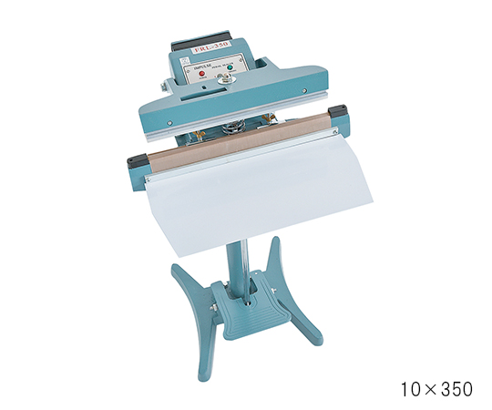 3-4915-03 足踏み式シーラー シールサイズ 10×600mm