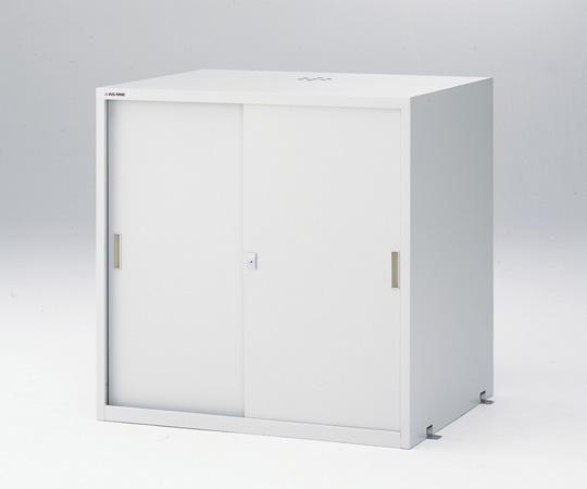 3-5345-21 耐震薬品庫(スチール製) 900×700×900