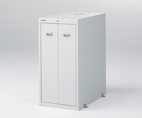3-5347-21 耐震薬品庫(スチール製) 450×700×900