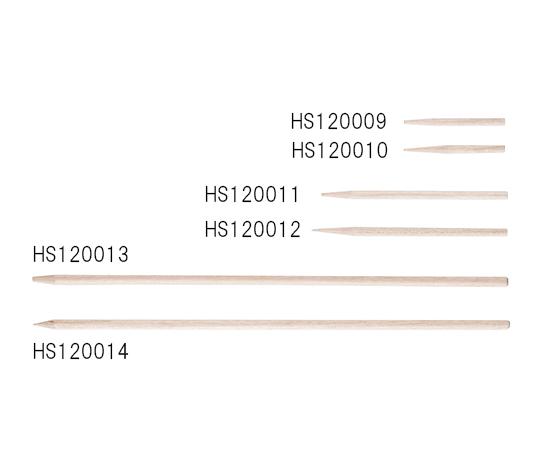 3-5993-03 サンプリングピック HS120014 15.24mm 先端尖型 500本
