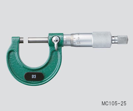 3-6039-03 標準外側マイクロメータ 測定範囲:50~75mm