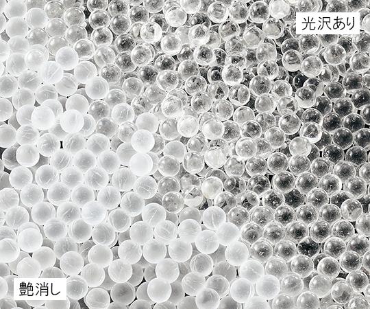 3-6385-02 ガラスビーズ 艶消し φ16mm