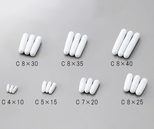 3-6657-04 全商品オープニング価格 レギュラー撹拌子 即日出荷 バリュー φ8×25mm 10個入