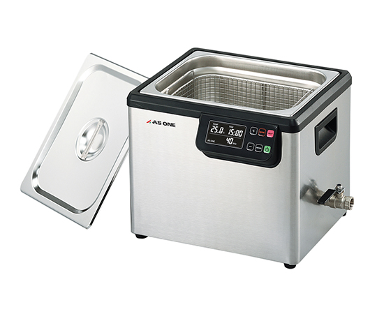 3-6747-04 超音波洗浄器(二周波) 10L