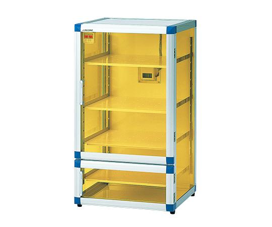 強化プラスチック棚板 3-6753-01 574×611×1085 フロストドライデシケータBG(UVC&制電)