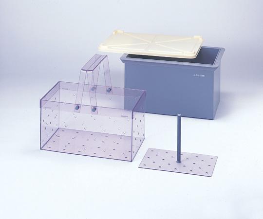 4-040-02 角型洗浄槽 R-1型(バスケット)